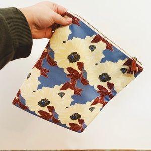 rachel pally | large floral fold makeup bag